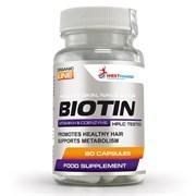 WESTPHARM Biotin 10mg (60капс)