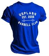 Usplabs футболка (синий)