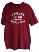 Usplabs футболка (красный)