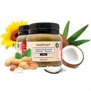 DopDrops Протеиновая паста Подсолнечник Арахис Кокос (стевия) (250гр)