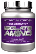 Scitec Nutrition Isolate Amino (500капс)