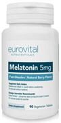 EuroVital Melatonin 5 mg Fast Dissolve (90таб)