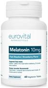 EuroVital Melatonin 10 mg Fast Dissolve (60вег.таб)