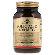 Solgar Folic Acid 800mcg (250таб)