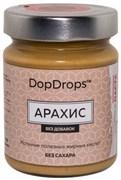 DopDrops Протеиновая паста Арахис стекло (без добавок) (265гр)