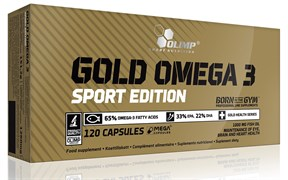 Olimp Gold Omega 3 Sport Edition (120капс)