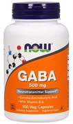 NOW - GABA 500 mg + B-6 (100капс)