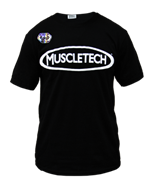 MuscleTech футболка Team 2018 (черный)