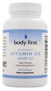Body First Vitamin D3 2000 IU (60гел.капс)
