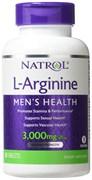 Natrol - L-Arginine 3000mg (90таб)