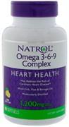Natrol - Omega 3-6-9 Complex (90гел.капс)