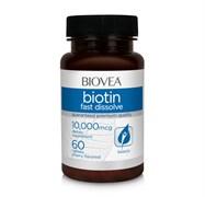 Biovea Biotin 10000 mcg Fast Dissolve (60таб)