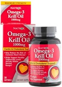 Natrol - Omega 3 Krill Oil 500 mg (30капс)
