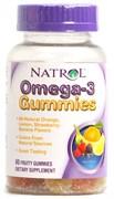 Natrol - Omega 3 Gummies (60жев.таб)