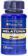 Puritan's Pride Melatonin 3mg (120табл)