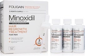FOLIGAIN Men Minoxidil 5% Hair Regrowth Treatment (3х60мл)