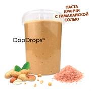 DopDrops Паста Арахис КРАНЧИ (гималайская соль) (1000гр)