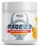 GeneticLab Nutrition - Rage 2.0 (240гр)