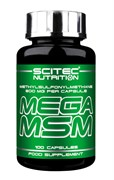 Scitec Nutrition Mega MSM (100капс)