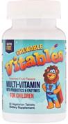 Vitables Chewable Vitables Multi Vitamin & Mineral for Children (60таб)