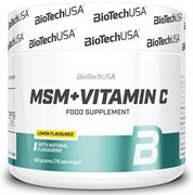 BioTech USA MSM + Vitamin C (150гр)