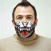 "Маска Ева - защитная фильтрующая многоразовая - ""Морда тигра"""