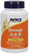 NOW - Omega 3-6-9 1000 mg (100гел.капс) - фото 5164
