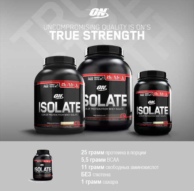 Isolate GLUTEN FREE, Optimum Nutrition, 1380 гр.jpg